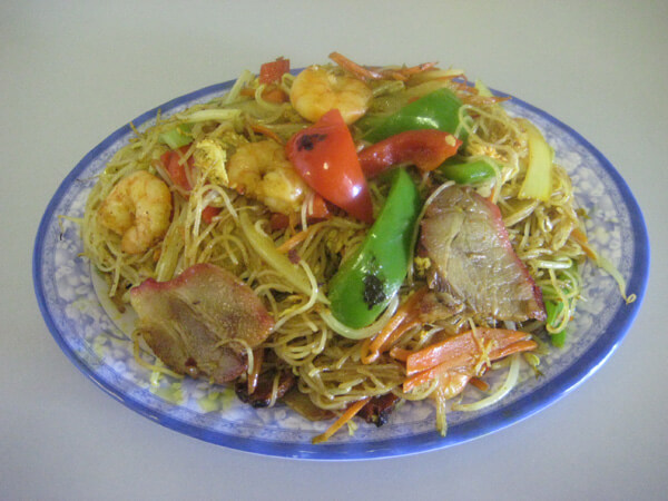 Singapore Noodles (Spicy)