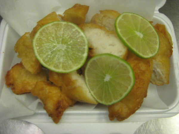 Lemon Chicken Deep Fried